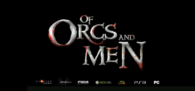 of orcs and men 2012 video game title q2 spring 2012 orcs and goblins