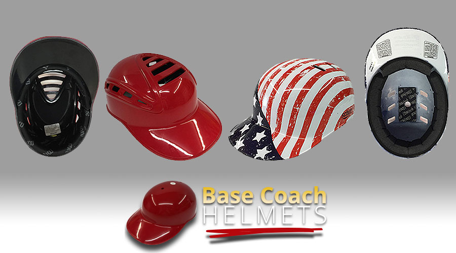 Base Coach Helmets for Softball Coaches