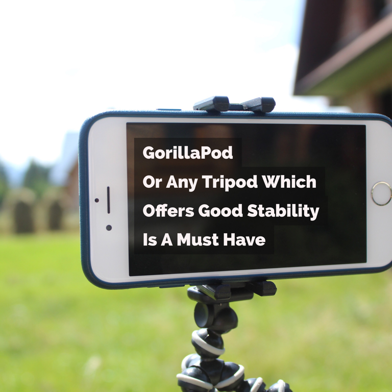 gorillapod and tripods for mobile cell phones