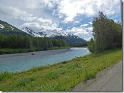 Trip between Portage Glacier area and Seward Alaska