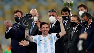 Argentina Juara Copa America 2021 Usai Libas Brasil