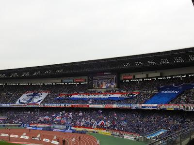 横浜F・マリノスのゴール裏