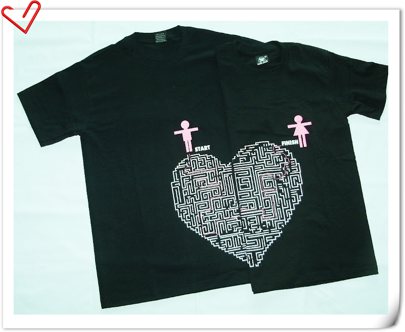 Forunigather malaysia online gift shop couple tee shirt valentine