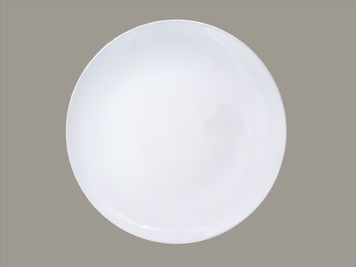 Billy Cotton White Charger Plate