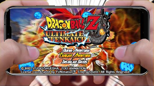 SAIU! Novo Dragon Ball Z Ultimate Tenkaichi MOD SUPER BT3 + MENU Para ANDROID (PPSSPP) (+ Download)