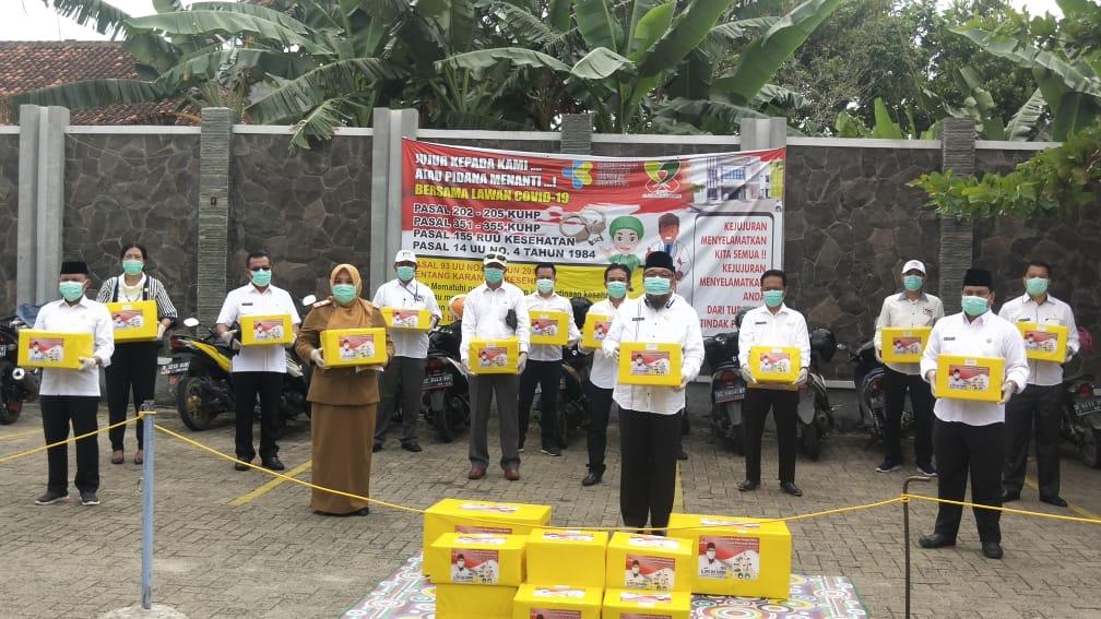 TEC Sumbangkan APD Untuk Tenaga Medis Se-Lampung Selatan.
