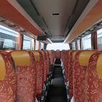 het interieur van de Setra van Besseling Travel bus 5