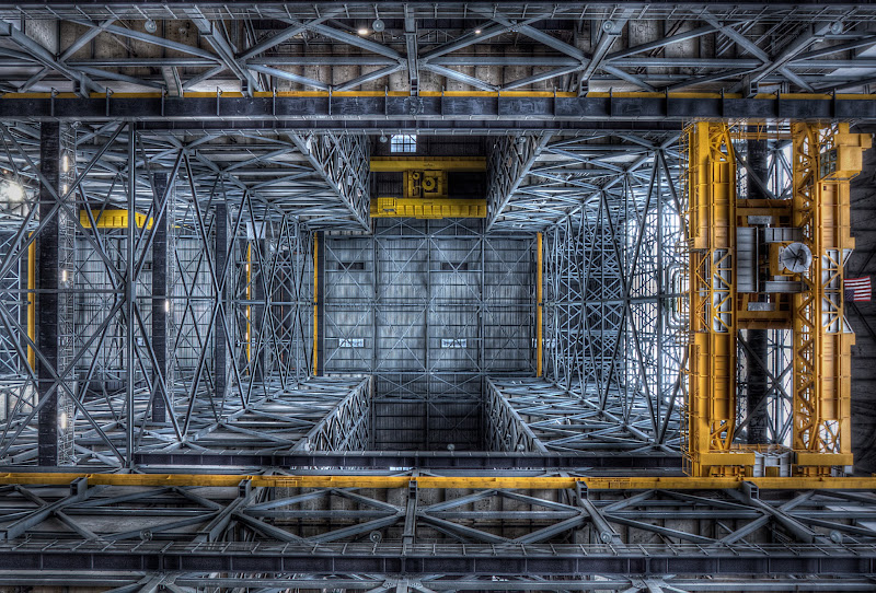 Ceiling of NASA's Vehicle Assembly Building @ Certain ...
