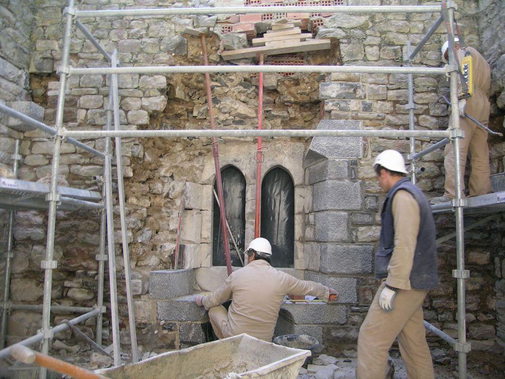 Reconstruccion Torre de Uriz - DSCN8490.JPG
