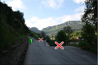 Calle de la izquierda