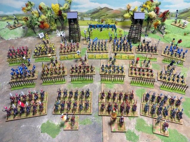 [SENGOKU JIDAI] Mon armée au complet ! 01_Army
