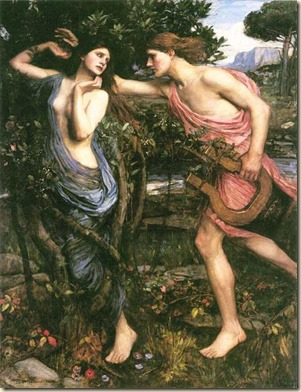 Apolo y Dafne de John William Waterhouse 2