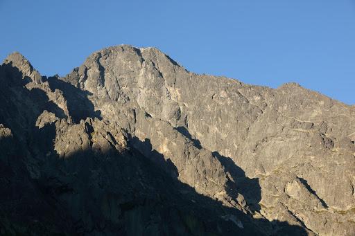 Lomnický štít z Malej Studenej doliny