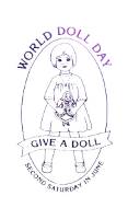 Support World Doll Day, to help children in need.