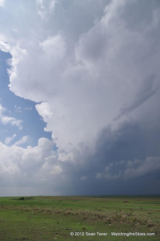 04-14-12 Oklahoma & Kansas Storm Chase - High Risk - IMGP0363.JPG
