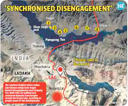Synchronised Disengagement In Ladakh