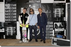 FLORENCE, ITALY - JUNE 13:  Shinpei Ueno, Hiroshi Fujiwara and Ulric Jerome attend MONCLER FRAGMENT Florence on June 13, 2018 in Florence, Italy.  (Photo by Vittorio Zunino Celotto/Getty Images for Moncler) *** Local Caption *** Hiroshi Fujiwara;Ulric Jerome;Shinpei Ueno