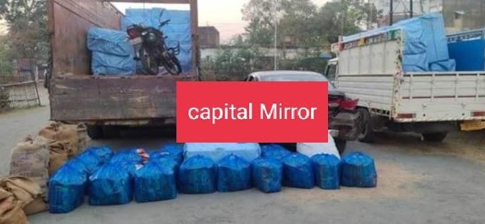 देवघर: मधुपुर पुलिस ने आठ लाख रुपये मूल्य का गुटखा किया जब्त, पांच गिरफ्तार