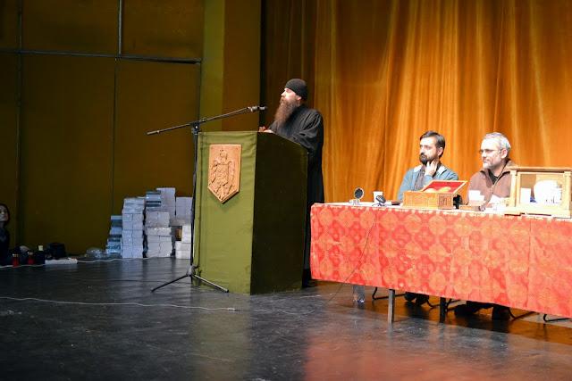 060 Avva Justin Parvu si Sfintii inchisorilor (Teatrul Luceafarul, Iasi, 2014.03.19)