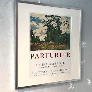 Marcel Parturier Framed Exhibition Poster
