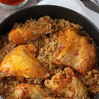 Paprika Chicken and Rice