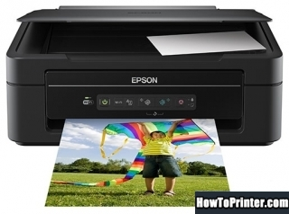 Reset Epson XP-207 printer with Epson resetter