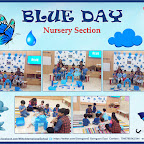Blue Day Celebration by Nursery Section (2018-19), Witty World, Goregaon East