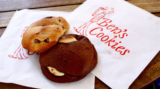 A must-try: Ben's Cookies! From  Everything You Need to Know about Eating in London
