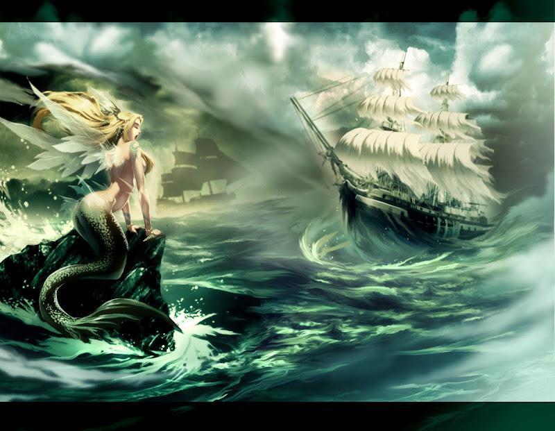 The Mermaid Song, Mermaids