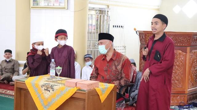 Buya Mahyeldi Tausiyah di Sungai Tanang, Ingatkan Persatuan dan Pendidikan Generasi Muda