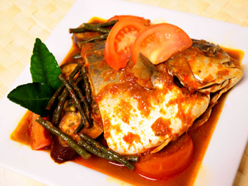 Spicy Assam Fish