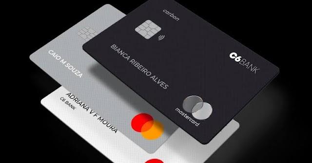 C6 Bank: Conta Digital + Cartão de crédito grátis