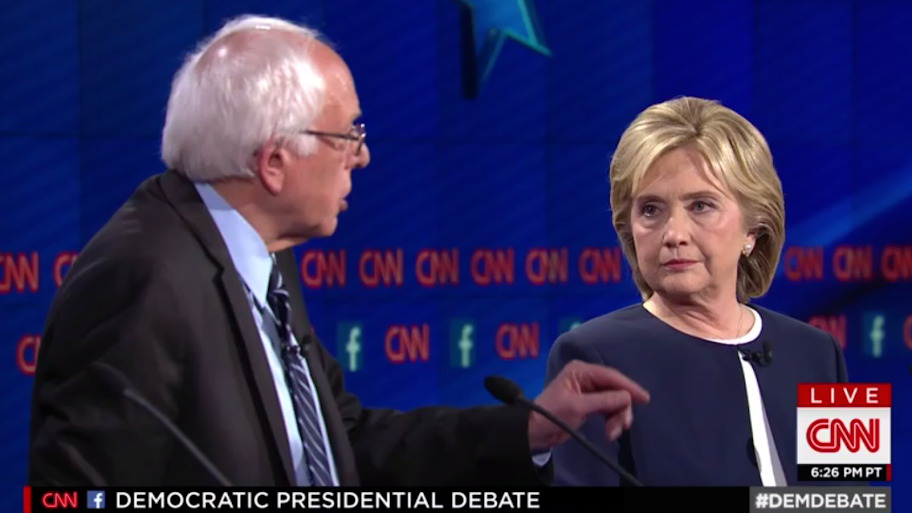 Sanders mimics Trump and threatens to skip Democratic debate