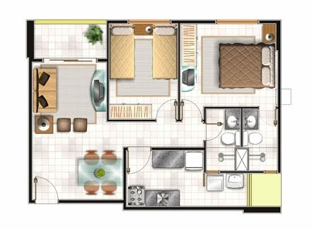 Yusmaryurdaneta home sweet home for Distribucion de casas modernas de una planta