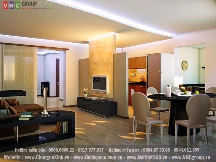 Lựa chọn phong cách thiết kế nội thất căn hộ chung cư cho gia đình trẻ hiện đại