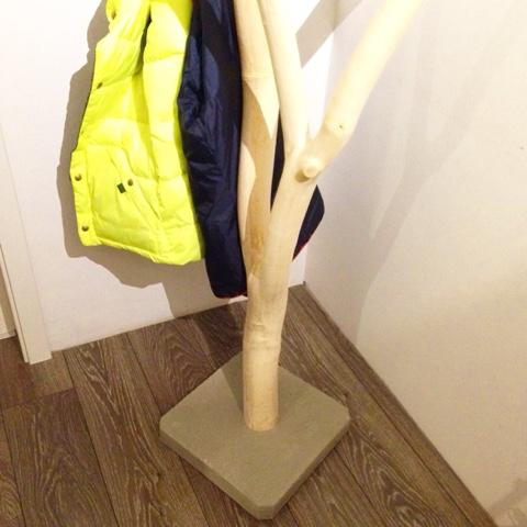 muckelfuchs die neue garderobe ein schmuckst ck aus holz. Black Bedroom Furniture Sets. Home Design Ideas