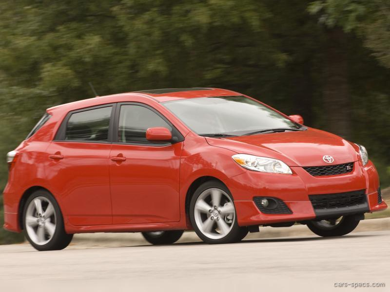 2007 toyota matrix hatchback specifications pictures prices. Black Bedroom Furniture Sets. Home Design Ideas