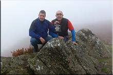 Albiturri mendiaren gailurra 943 m. --  2015eko urriaren 18an