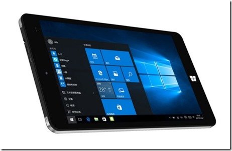 Chuwi Vi8 Plus, Tablet Windows 10 Bertenaga Intel Cherry Trail