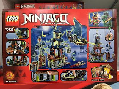 Lego Ninjago 70732 City of Stiix Tấn công vào thành phố của Stiix