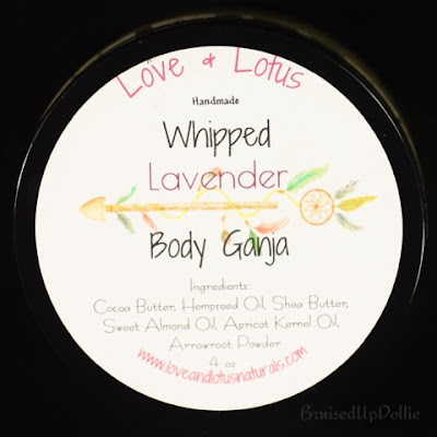 Love & Lotus Whipped body ganja