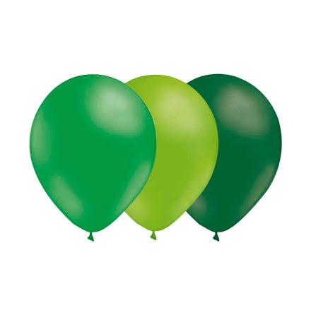 Ballongkombo Grön - Limegrön - Mörkgrön
