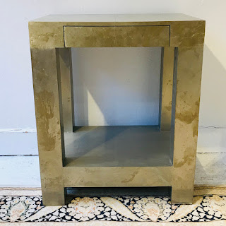 West Elm Metal Wrapped Side Table