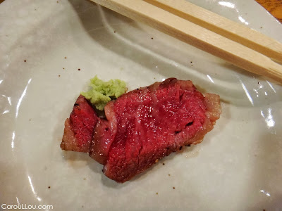 CarouLLou.com Carou LLou in Tokyo Japan food Beef +
