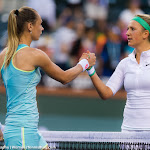 INDIAN WELLS, UNITED STATES - MARCH 17 : Victoria Azarenka in action at the 2016 BNP Paribas Open