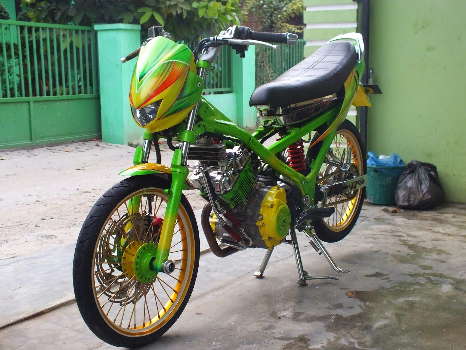 Kawasaki Blitz Modifikasi