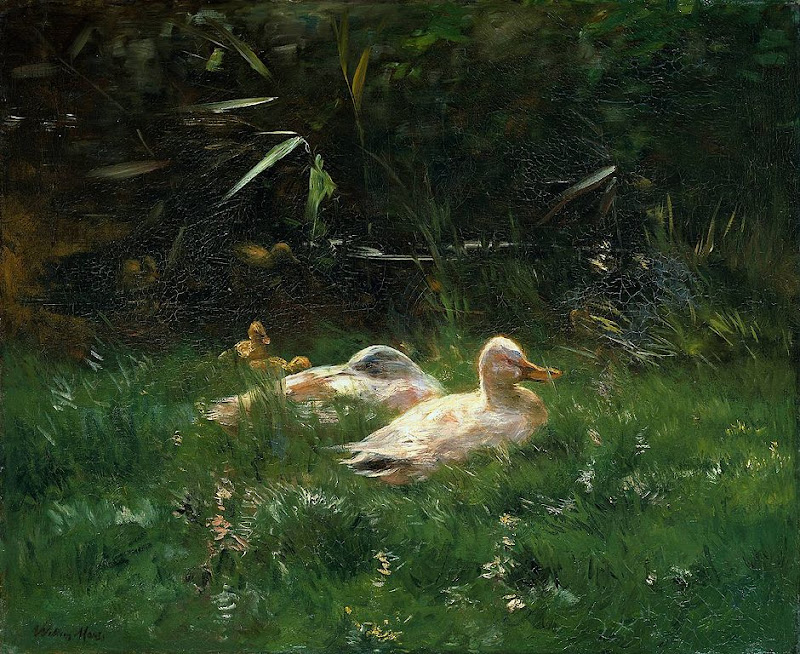 Willem Maris - Ducks