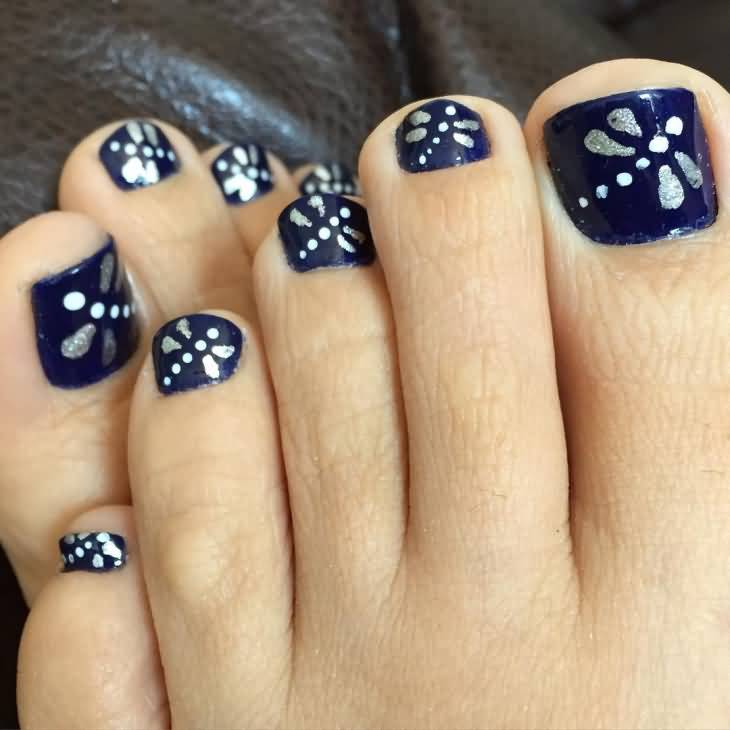Amazing And Easy Erfly Toenail Art Tutorial