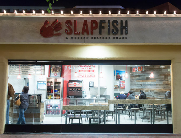 photo of the outside of Slapfish
