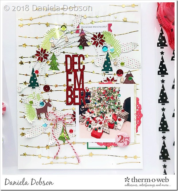 December 25 by Daniela Dobson for Therm O Web